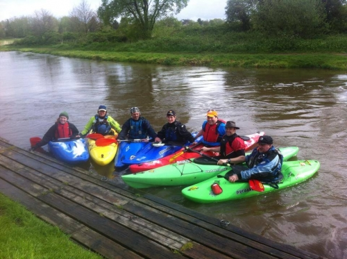 Charity Kayak Challenge